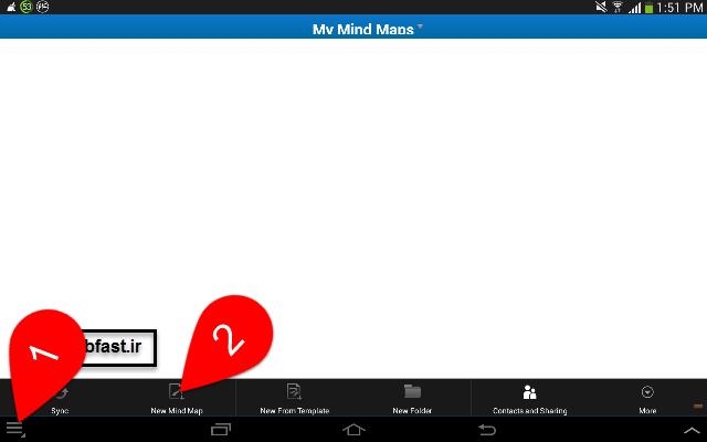 آموزش نرم افزار نقشه ذهنی imind map HD 4